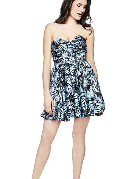 Robe imprime papillons