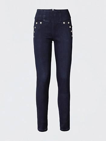 Multi Skinny Jeans eu Bottone Guess wRCq0
