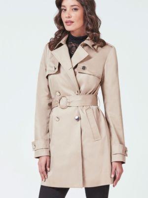 Manteau caban court cintre femme