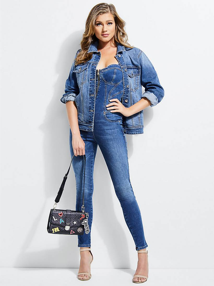 ee02a448543 DENIM JUMPSUIT
