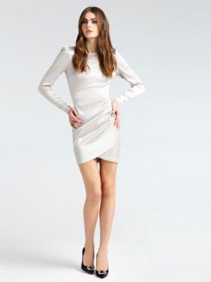 Guess vestido blanco largo