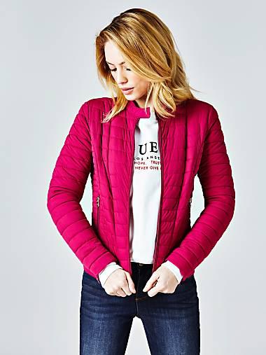 5a9fd7577cd2 Женские куртки и пальто   Официальный сайт GUESS