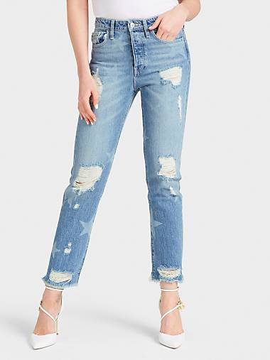 Jeans Tutto A Saldi Strappati 60 Guess® r6HrR