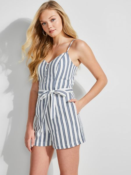 GUESS Jumpsuit Streifenmuster
