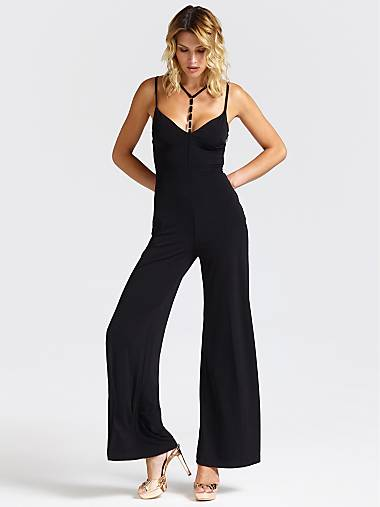 c534e0c51a JUMPSUIT WITH WIDE BOTTOM