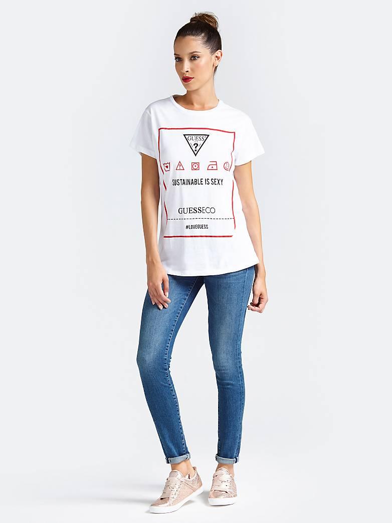 d041c8429ecc7 Women T-Shirts | GUESS® Official Online Store