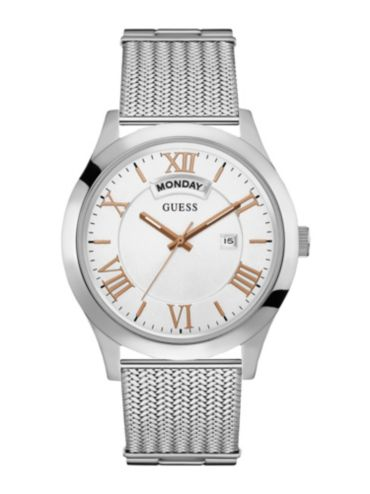 men s watches guess® official website mens dress multi function watch
