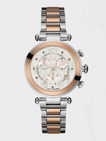 guess gc watches collection gc ladychic watch chronograph