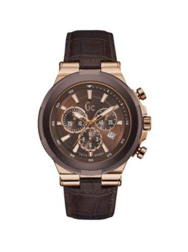 guess gc watches collection gc structura watch leather